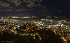 Fotógrafo mostra como são à noite locais que de dias estão sempre cheios.. Galeria com 13 fotos em Rio de Janeiro.