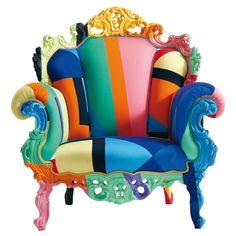 Einfach ein heftig cooler Sessel! Bombastische farben und klassisches design!