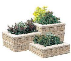 construire une jardinière en briques - Bing Images