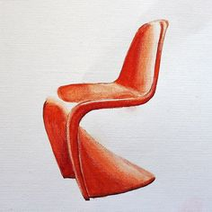 The Panton chair was invented by Danish designer Verner Panton in the 60's. This is the symbol of the plastic furniture and gneral design of the 60's. In those days designers were in search of a new and wanted to create a single form chair made of a single piece of material. Also Panton wanted this chair for mass production. Today Vitra produces the chair made of polypropylene, the material which is durable and exposed to the secondary treatment and it is very important for the environment…