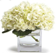 Hydrangea- although a single stem can be nearly $10 each, one or two stems can go a long way with this large bloom