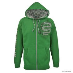 Slytherin™ Hooded Sweatshirt Unisex | Slytherin™ | Warner Bros Studio Tour London