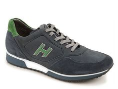 Hogan Sneakers H198 in suede with nubuck panels - Italian Boutique €209