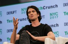 Adam Neumann, the co-founder and chief executive of the international real estate co-working startu Evan Spiegel, Family Office, Initial Public Offering, Seven Years Old, Financial Times, Co Working, Machine Learning, Being A Landlord, New Technology