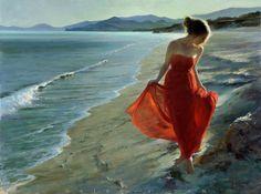 "—Vladimir Volegov—   ""Sunset at Sardinia coast"", 121x91 cm, oil on canvas. October 2015— https://www.facebook.com/VladimirVolegovOfficial/photos/a.171056096251240.34483.169161913107325/994065607283614/"