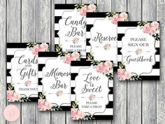 Silver Bridal Shower Table Signs Package Pink Floral Instant #babyshowerideas4u #birthdayparty #babyshowerdecorations #bridalshower #bridalshowerideas #babyshowergames #bridalshowergame #bridalshowerfavors #bridalshowercakes #babyshowerfavors #babyshowercakes