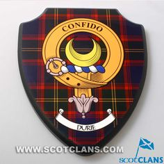 Durie Crest Plaque