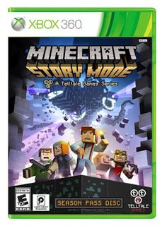 Minecraft: Story Mode - A Telltale Game Series - Season Pass Disc Xbox 360 Xbox 360 Video Games, Latest Video Games, Ps4 Games, Games Consoles, Arcade Games, Playstation, Wii, Minecraft Creator, Videogames
