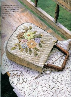 Embroidery patchwork quilt - Mari - Picasa Web Albums
