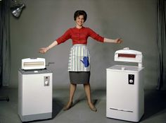 Evalet washing machines | Atelier Rude | 1960 | Oslo Museum | CC BY-SA