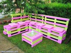 Light Weight Aluminum Band Patio Area Furnishings for the Poolside – Outdoor Patio Decor Pallet Garden Furniture, Diy Furniture Couch, Pallets Garden, Furniture Layout, Furniture Ideas, Furniture Removal, Furniture Movers, Outdoor Furniture, Furniture Stores