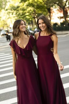 Hayley Paige Occasions Spring 2020 Bridesmaid Dresses Jewel Tone Bridesmaid, Bridesmaids, Bridesmaid Dresses, Wedding Dresses, American Dress, Hayley Paige, Jewel Tones, Occasion Dresses, Prom