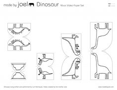 Made by Joel » Dinosaur Music Video Paper City