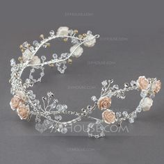 Headbands Wedding Special Occasion Outdoor Party Crystal Rhinestone Resin 13.58