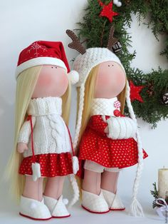Купить Интерьерная кукла - ярко-красный, интерьерная кукла, интерьерная игрушка, кукла ручной работы