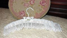 Custom Made, Wedding,Bridal, Special Occasion, Padded, Silk Hanger