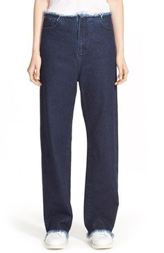 Marques'Almeida Marques'Almeida Relaxed Boyfriend Jeans available at #Nordstrom