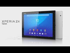 Sony Xperia Z4 Tablet unveiled at MWC 2015 - http://tchnt.uk/1BPWzl8