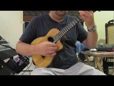 Sleepwalk - solo ukulele - YouTube