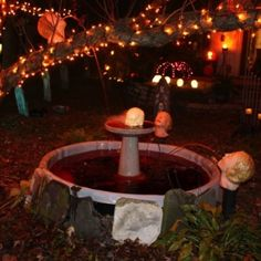 Halloween decor ideas: the maiden head pool shoots