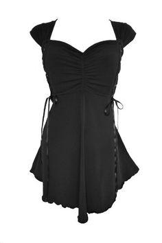 Dare To Wear Victorian Gothic Women's Plus Size Cinch Corset Top Black Sizes S- 5X http://www.amazon.com/dp/B00JJV00B0/ref=cm_sw_r_pi_dp_JKrItb0ZYZWJHPQZ