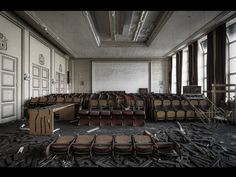Fotógrafo capta ruínas decadentes da Europa em fotos assombrosas 04