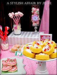 A Stylish Affair by Jessie: Strawberry Shortcake Inspired Party
