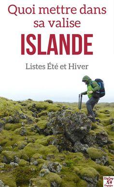 Islande Voyage - Guide pratique pour savoir quoi emmener en Islande - Comment s'habiller en Islande en été ou en hiver ? Vêtements Islande, chaussures Islande et autres conseils pratiques | Islande itinéraire | Valise Islande