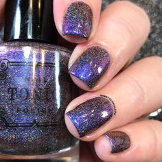 Magnetic Midnight by Tonicpolish on Etsy