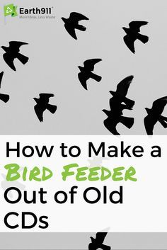 This CD case bird feeder upcycling project looks super easy. I've been wondering what I should do with these old CD cases I have lying around the house.