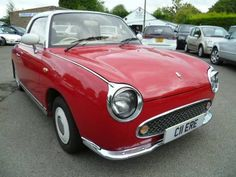 Not an original colour but still preeeetttttttty Nissan Figaro, Red Images, Tunbridge Wells, Red Style, Red Fashion, Surrey, Used Cars, Cars For Sale, Dream Cars