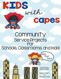 Community Service Projects - Project Based Learning This product will be useful in helping you find ways to reach out to your community and help in doing for others. I know that it is a goal of many schools to reach out to their local community and see how they can help others.