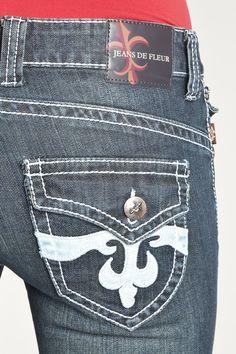 Capri Jeans de Fluer $54  Women's Capri – JF5005C