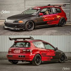 Another Dope Shoot By ! Honda Civic Hatchback, Honda Crx, Honda Civic Si, Tuner Cars, Jdm Cars, Cool Sports Cars, Sport Cars, Corsa Wind, Civic Eg