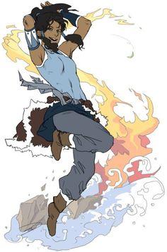 Korra - Avatar: The Legend of Korra - Image - Zerochan Anime Image Board Avatar Airbender, Avatar Aang, Team Avatar, Legend Of Korra, Medan, Avatar Series, Korrasami, Animation, Geek Out