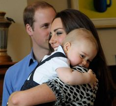 Just like a regular baby boy ..... who loves his Mama.  #PrinceGeorge