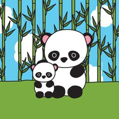 Panda Sweetness Art Print by the Zoe animals | Society6