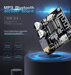 Bluetooth Audio Receiver Board Bluetooth Lossless Decoder Board with Lithium Battery Charging Electrical Circuit Diagram, Audio Amplifier, Consumer Electronics, Bluetooth, Pure Products, Phone, Board, Gadgets, Telephone