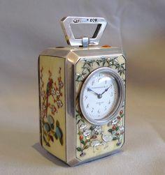 at Gavin Douglas Fine Antiques Ltd. in London, specialists in antique clocks and decorative gilt bronze Unusual Clocks, Cool Clocks, Antique Clocks, Antique Silver, Classic Clocks, Carriage Clocks, Retro Clock, Art Asiatique, Apple Watch Accessories