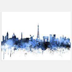 artPause - Paris France Skyline