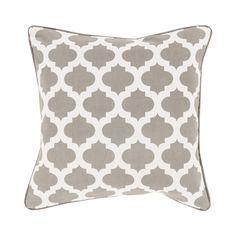 Give any subdued sofa or armchair a stunning accent piece with this stylish throw pillow. Decorated with chic, contemporary patterning, this Chandra Throw Pillow will easily brighten any elegant living...  Find the Chandra Throw Pillow, as seen in the Refined & Eclectic in Marrakech Collection at http://dotandbo.com/collections/refined-and-eclectic-in-marrakech?utm_source=pinterest&utm_medium=organic&db_sku=111124