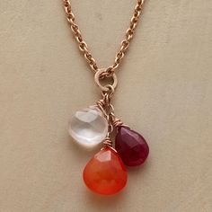 Setting Sun Necklace in Fall Jewelry 2012 from Sundance