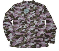 Jacke / Canvasjacke von KangaROOS in Camouflage Gr.164 NEU