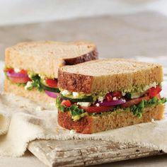 Panera Bread Mediterranean Veggie :D