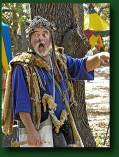 bay area renaissance festival - I'm the Rat Catcher Emrys Fleet, two parts of the rat doth I eat. The body and head 'twixt two pieces of bread, there's no meat in the tail or the feet.