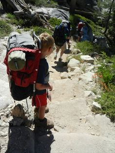 Uncrowded Yosemite: yes, even in summer, the backcountry is almost empty! How to plan a backpacking adventure WITH KIDS in Yosemite.