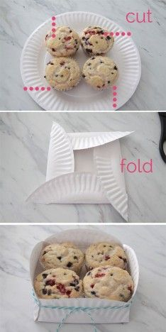 DIY Paper Plate Basket