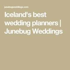 Icelands best weddi