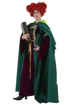 DIY Sanderson Sisters Halloween Costume Winifred
