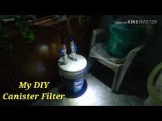 DIY Canister Filter For Aquarium - Part 1 - Built - YouTube Diy Aquarium Filter, The Make, Canisters, Filters, Make It Yourself, Building, Youtube, Buildings, Youtubers